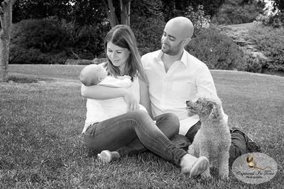 Family portraits, Veale Gardens, Adelaide photography, pet photography, baby photography