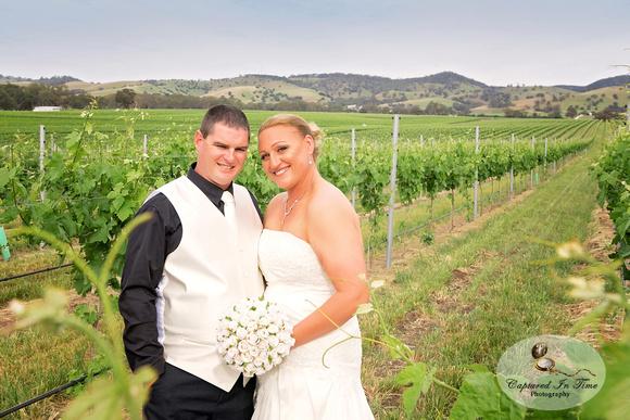 Mel and Tim's Barossa Wedding