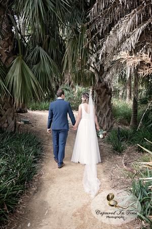 Johanna and Daniel's Adelaide Botanic Gardens Wedding