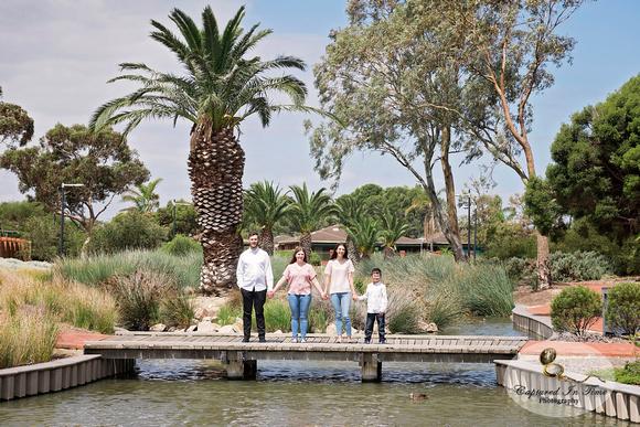 Petruzzelli family portraits | West Lakes Duck Pond