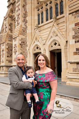 Andre's Baptism/Christening at St Francis Xavier Cathedral in Adelaide
