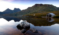 Reflections of Dove Lake