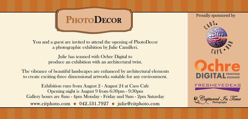 PhotoDecor back of invitation